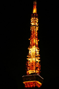 自転車通勤・東京タワー
